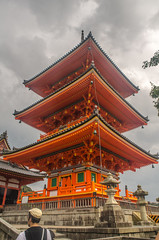 Kiyomizudera Pagoda (www78) Tags: kiyomizudera temple kyoto japan pagoda