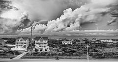 our back yard.  going dark (Lanamcara) Tags: vastness stormclouds clouds pregamesweepwinner gamewinner