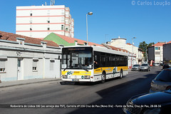 2016.08.28. RL 182 (Carlos Loução) Tags: bus autocarro rodoviáriadelisboa mercedes benz