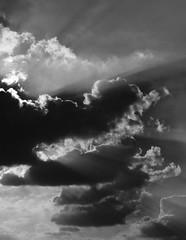 les clatants (doubichlou) Tags: ciel sky nuage cloud val marne ile france banlieue suburb noir blanc black white monochrome