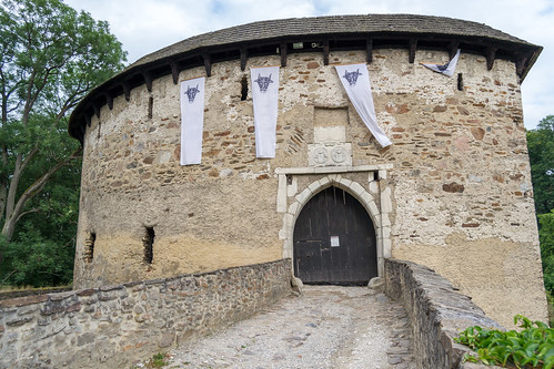Pernstejn - main castle gate