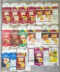 Vintage Kellogg's Pop-Tarts Boxes (gregg_koenig) Tags: vintage kelloggs poptarts boxes box milton 1970s 70s danish toaster toast breakfast old
