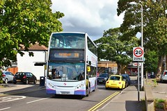 First West of England 33565 SN58CHD - Portishead (South West Transport News) Tags: first west england 33565 sn58chd portishead