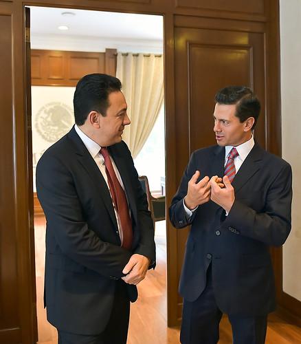 Reunión con el Gobernador Electo de Hidalgo, Omar Fayad
