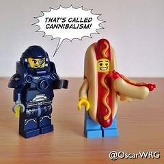#LEGO_Galaxy_Patrol #LEGO #Cannibal #Cannibalism #HotDog @lego_group @lego @bricksetofficial @bricknetwork @brickcentral (@OscarWRG) Tags: legogalaxypatrol lego cannibal cannibalism hotdog