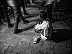 have or haven't (Shadman241091) Tags: legs sandal leg deprived street people begging boy night oneplusone bnw streetphotography chittagong bangladesh