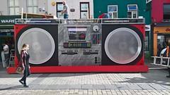 City of Culture (mcginley2012) Tags: lumia650 culturenightgalway street set culturenight2016 cameraphone arts boombox casette tape radio speakers