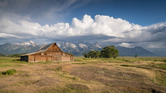 Moulton Barn (Jeremy Duguid) Tags: grand teton national park moulton barn travel nature landscape wyoming jackson hole tetons gtnp sunrise morning dawn clouds landscapes outdoors outdoor hike hiking cloudscape beauty jeremy duguid sony