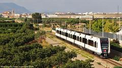 On el metro es converteix en el trenet (tunel_argentera) Tags: tren train ferrocarril railway zug metro trenet fgv metrovalencia albalat museros