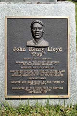Hall of Famer in A.C. (DC Products) Tags: 2016 newjersey atlanticcounty pleasantville atlanticcity atlanticcitycemetery poplloyd johnhenrypoplloyd baseball halloffamer grave gravesite cemetery