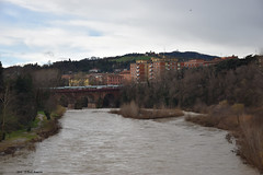 Fiume Reno (Paolo Bonassin) Tags: italy emiliaromagna casalecchiodireno casalecchiodirenoviadeimille pontedipace bridges ponti bridge ponte fiumi reno rivers fiumereno