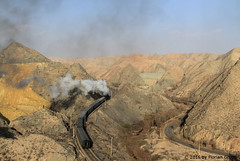 I_B_IMG_8310 (florian_grupp) Tags: asia china steam train railway railroad bayin lanzhou gansu desert landscape loess mountains sy ore mine 282 mikado steamlocomotive locomotive