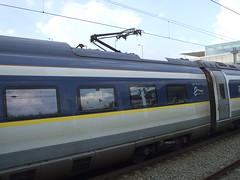 Eurostar e320 pantograph coach. (DesiroDan) Tags: highspeed1 ebbsfleetinternationalstation eurostar eurostare320 eurostarclass374 class374velaro uktrains ukelectricunits highspeedtrainsintheuk britishrailclass374