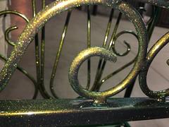 #elegantmist over #inkblack powder coated patio furniture. #prismaticpowders #arironllc