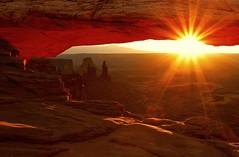 Time to Shine (ernogy) Tags: ernogy utah mesaarch sunrise landscape nature canyonlands islandinthesky moab washerwoman desert southwest usa