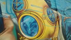Mural diante do Aqurio do Rio (Meus Olhos) Tags: rio de janeiro orla conde mural grafite interveno urbana avenida rodrigue rodrigues alves rodriguesalves perimetral boulevard olimpico orlaconde
