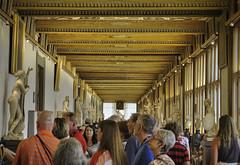 Uffizi gallery (AlexR!) Tags: florence uffizi gallery art statues corridor