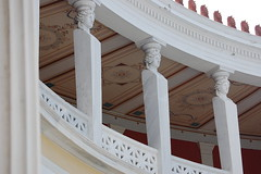 Courtyard at the Zappeion (gilmorem76) Tags: painting art architecture zappeion athens greece tourism travel