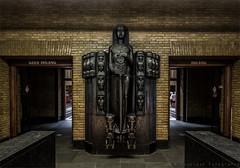 geen ingang / ingang (henny vogelaar) Tags: netherlands utrecht architecture jcrouweljr amsterdamseschool 1924 postoffice rijksmonument hendrikvandeneijnde hendrik van den eijnde