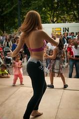 Belly dancer (Oneras) Tags: dance baile bailarina legs back bellydancer