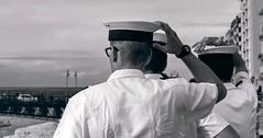 Wind (armandocapochiani) Tags: street beauty bn bianconero blackwhite bw real italy italian italia navy marines apulia taranto 60mm nikond3 armandocapochiani pontegirevole sailors army military