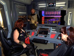 And Nighteagle Says He's Not A Trekkie! (stevenighteagle) Tags: startrek starfleet trekkies scifi fandom tos tng voy ds9 ent interiors guffey colorado