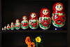 """Nine"" sisters (taniuniyana) Tags: red brown flower canon eos wooden doll 9 人形 花 木 matryoshka 6d 赤 茶色 flickrfriday матрёшка 木製 マトリョーシュカ"