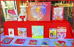 Say I Love You With Books Display (JDNEDream) Tags: love fun happy reading display books valentine bookstore valentinesday hastingsnebraska