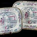 "239. Set of Adams ""Chinese Ching"" Porcelain Transferware"