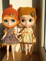 Mango &Vanilla in their new outfits :)