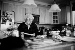 In the Kitchen (Nishi Drew) Tags: seattle bw usa white black monochrome digital 35mm canon washington aperture dof sigma shallow ff 5dmarkii 5dii sigma35mm14
