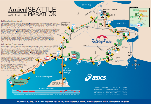 Where Sunday\'s marathon touches Capitol Hill | CHS Capitol ...