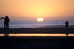 Ocean Beach San Francisco, Ca (RolandR.) Tags: sanfrancisco california sunset silhouette lens san francisco minolta sony beercan oceanbeach a55 minolta70210mmf4
