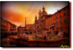 ~ Rome As I remember it ~ (stephgum32807) Tags: rome roma italia trastevere piazzanavona ourtime vigilantphotographersunite itlly