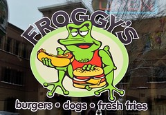 Photo for Dan (timmerschester) Tags: holland michigan frog burgers hotdogs rana frosch froggy grenouille kikker froggys
