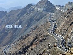 كم سيارة ؟ (Adel Hilal عادل الهلال) Tags: زحمة الهدا عقبة