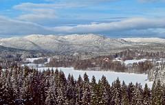 Maridalen, Oslo (bjorbrei) Tags: winter snow oslo norway forest landscape day nordmarka maridalen marka maridalsvannet pwwinter