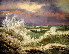 Gustave Courbet - The Wave, 1869 at the Legion of Honor (Fine Arts Museums of San Francisco CA) (mbell1975) Tags: california ca art museum painting french landscape san francisco gallery museu fine arts honor wave palace musée calif musee m museo museums muzeum legion courbet gustave finearts the beauxarts 1869 müze museumuseum