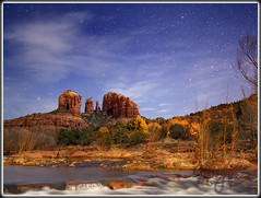 Stars in Sedona (MikeJonesPhoto) Tags: arizona nature night stars landscape photographer ns scenic sedona az professional 213 4636 mikejonesphoto smithsouthwestern wwwmikejonesphotocom