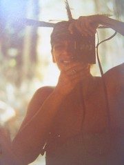 Way back when i lived in the rainforest 2 (YAZMDG (16,000 images)) Tags: selfportrait reflection self reflections rainforest feathers australia moi nsw reflective ricoh yaz selfie headgear subtropics melancholie rainbowregion reflectives faunaofaustralia northernriversspecies yazmdg florafaunaofoz ystudio yazminamichèledegaye waybackwhenilivedintherainforest miroirimage