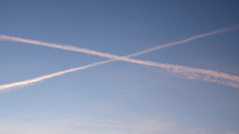 #60 of 365: Criss Cross (Donald Matheson) Tags: canon contrails efs1785mmf456isusm 30d project365 365days 2013