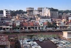 Saigon 1968 - Đường Lê Lai nhìn từ tầng 5 KS Walling trên đường Phạm Ngũ Lão (manhhai) Tags: 1969 saigon