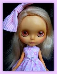 Waif feeling the L-O-V-E for Pink and her new Sleepforever dress!   AKAW 10/52