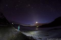 IMGP3219 (Matt_Burt) Tags: boy sky moon lightpainting night dark stars person looking space fisheye figure universe 8mm expansive starscape rokinon