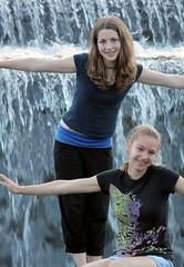 Katja & Saa (peter++) Tags: people water slovenia slovenija sasa sora katja voda sasao saa poljanska katjad kopalie kopalisce saao