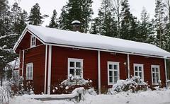 Wintry scene in Iitti (EilaK: Visit my nice galleries too!) Tags: oldhouse iitti vanhatalo