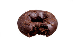 double chocolate (Takinosuke Ara) Tags: food donut pczek eos5dmarkii carlzeissmakroplanart250ze