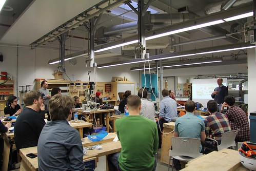 .Net Gadgeteer Workshop at Northumdria U by dumbledad, on Flickr