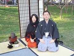 Yasutoshi & Erii (LAILAC Associazione Culturale Giapponese) Tags: firenze te giappone sado giapponese cerimonia chaji lailac
