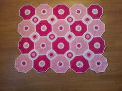 20130319_185048 (The Crochet Crowd) Tags: square spring crochet mikey blanket afghan redheart challenge octagon 2013 freecrochetpattern crochetcrowd octogonsquareafghan